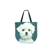 DekumDekum - Freddy the Maltese Puppy Dog Bag