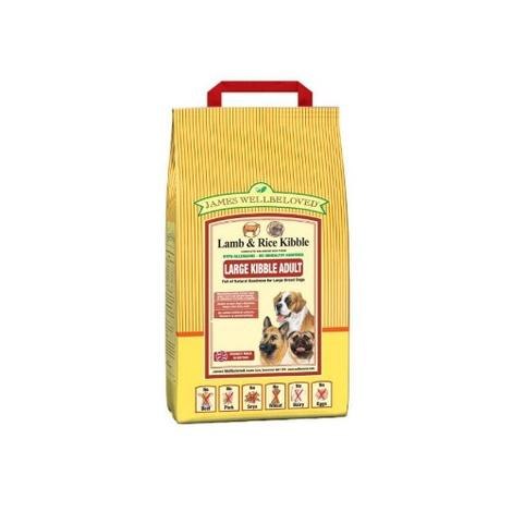 JW Adult Lamb & Rice (Large Kibble) 15kg
