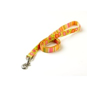 Yellow Dog - Green Bouquet Lead with Stripes Uptown Range