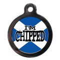 I'm Chipped St Andrews Pet ID Tag