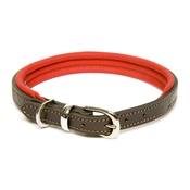 Dogs & Horses - D&H Colours Leather Collar - Red