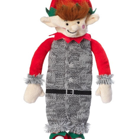 Silent Night Squeaker/ Stuffing Free Elf