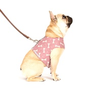 Mutts & Hounds - Heather Bone Linen Dog Harness
