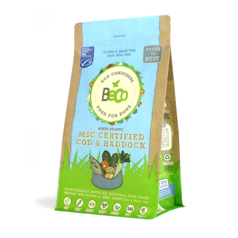 Beco MSC Certified Cod & Haddock Food for Dogs