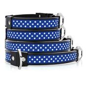 Cool Dog Club - Cool Dog K9 Striker MK1 Polka Dot Blue Dog Collar