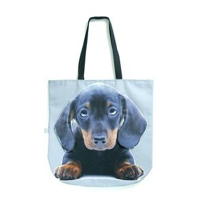 The DekumDekum tote bags have just landed on PetsPyjamas. Did we mention the 3D ears flap? Pick a tote bag with your breed on and off you go!