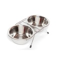 Double Pet Feeding Bowl 2