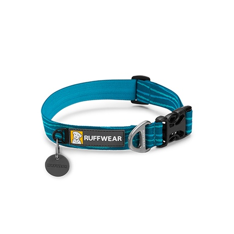 Hoopie Dog Collar - Pacific Wave