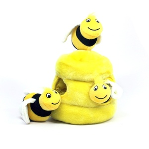 Hide-A-Bee Plush Dog Toy