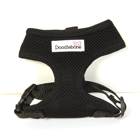 Airmesh Dog Harness – Black 2
