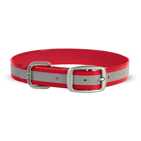 Koa Waterproof Dog Collar – Reflx Red