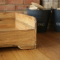 Personalised Rustic Wooden Dog Bed 4