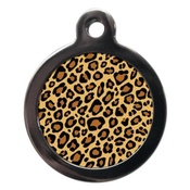 PS Pet Tags - Leopard Pet ID Tag