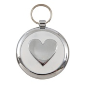 Tagiffany - Smarties White Heart Pet ID Tag