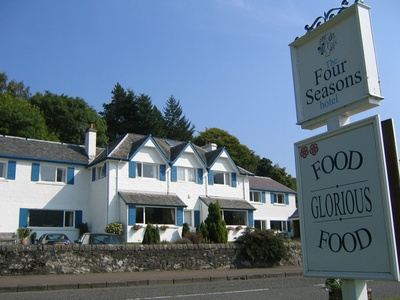 The Four Seasons Hotel, Scotland, St Fillans