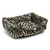 Pet Pooch Boutique - Antelope Faux Fur Dog Bed