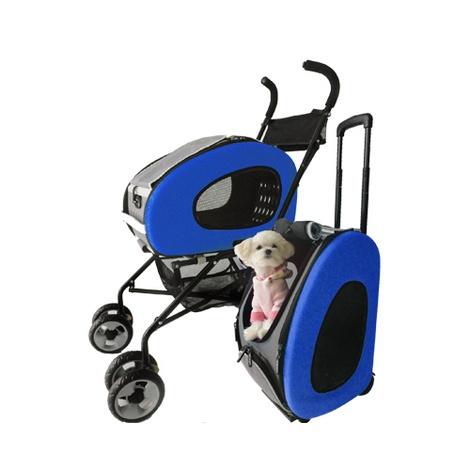 Blue 5-in-1 Pet Buggy