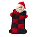 Santa Quilted Squeaker Dog Toy