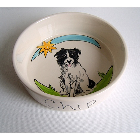 Large Personalised Dog Bowl 11