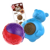 Pet Brands - Belly Bites Bear and Giwi Ball Bundle Small