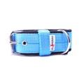 4cm width Fleece Comfort Dog Collar - Sky Blue