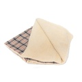 Check Mate - Beige Pet Blanket 2