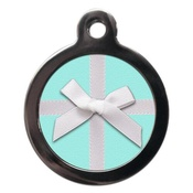 PS Pet Tags - Pretty Bow Pet ID Tag