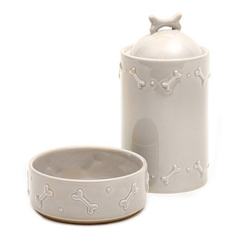 Ceramic Biscuit Jar - French Grey 3