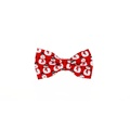 Mr Snowman Dog Bow Tie