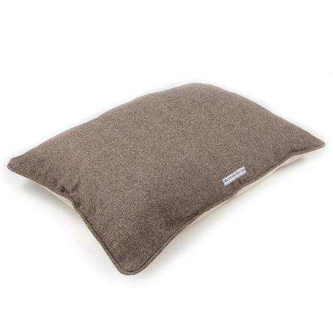 Herringbone Tweed Pillow Dog Bed