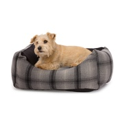 House of Paws - Tweed & Water Resistant Square Dog Bed