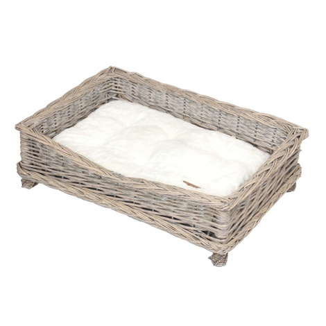 Square Willow Pet Basket 3