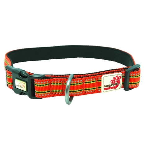 Comfort Padded Dog Collar – Orange