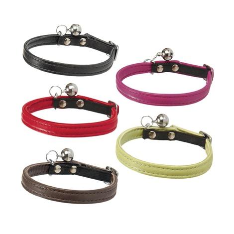 Escapade Leather Kitten Collar – Black  2