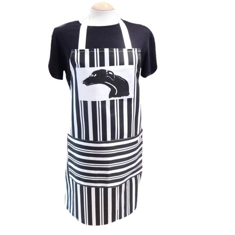 Greyhound Stripe Apron