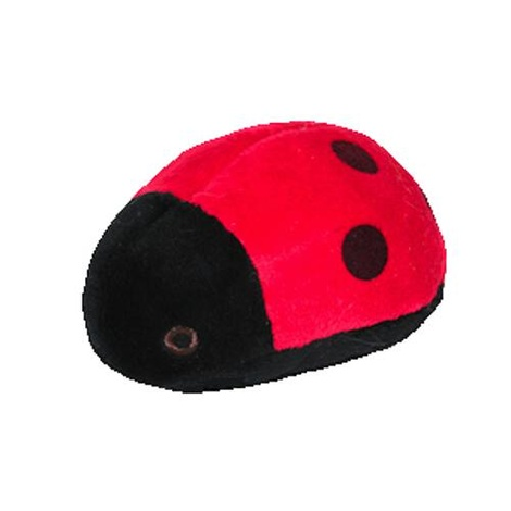 Fluff & Tuff Plush Dog Toy – Lady the Bug