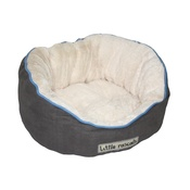 Little Rascals - Little Rascals Night Night Pet Bed – Light Grey