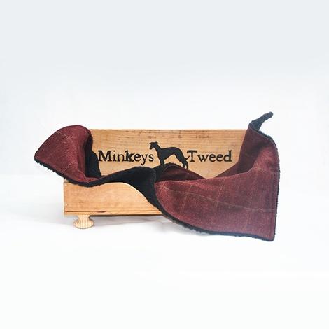 Frisbee Tweed Dog Blanket