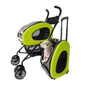 InnoPet - Lime Green 5-in-1 Pet Buggy