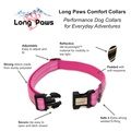 Comfort Padded Dog Collar – Pink 4