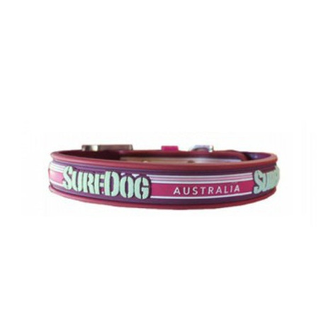 Surf Dog Waterproof Dog Collar - Pink