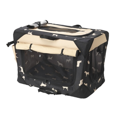 Water Resistant Print Collapsible Crate 2