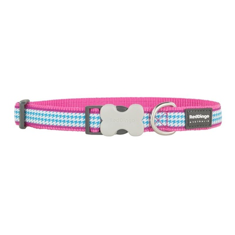Fang It Dog Collar – Hot Pink