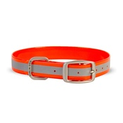 Dublin Dog - Koa Waterproof Dog Collar – Reflex Orange