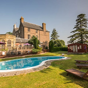 <strong>Peterstone Court Country Hotel & Spa, Wales: </strong> This stunning hotel makes a great retreat where you feel a world away from everyday cares. Surround yourself with a beautiful landscape of the Brecon Beacons and feast on delicious food.
