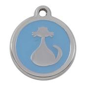 Tagiffany - My Sweetie Light Blue Cat Pet ID Tag