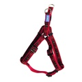 Tartan Dog Harness - Red