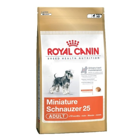 Royal Canin Miniature Schnauzer 25 3kg