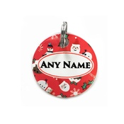 Ditsy Pet - Jolly Christmas ID Tag