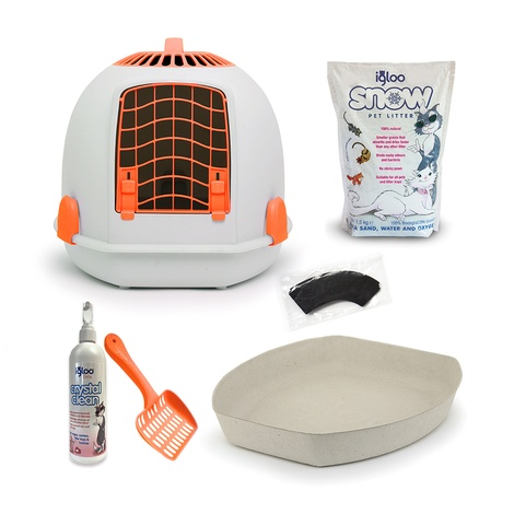 The Igloo' for Cats Starter Kit – Sunset Orange